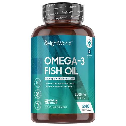 Olio di Pesce: fonte di omega 3